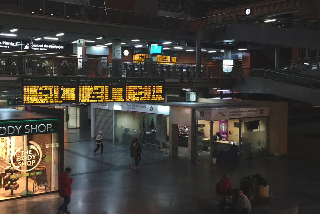 Estación de Atocha. Madrid, 2015 ©Sergio López