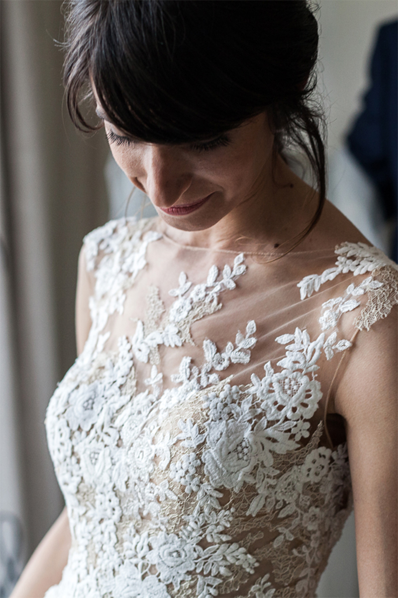 vestido de novia Avilés
