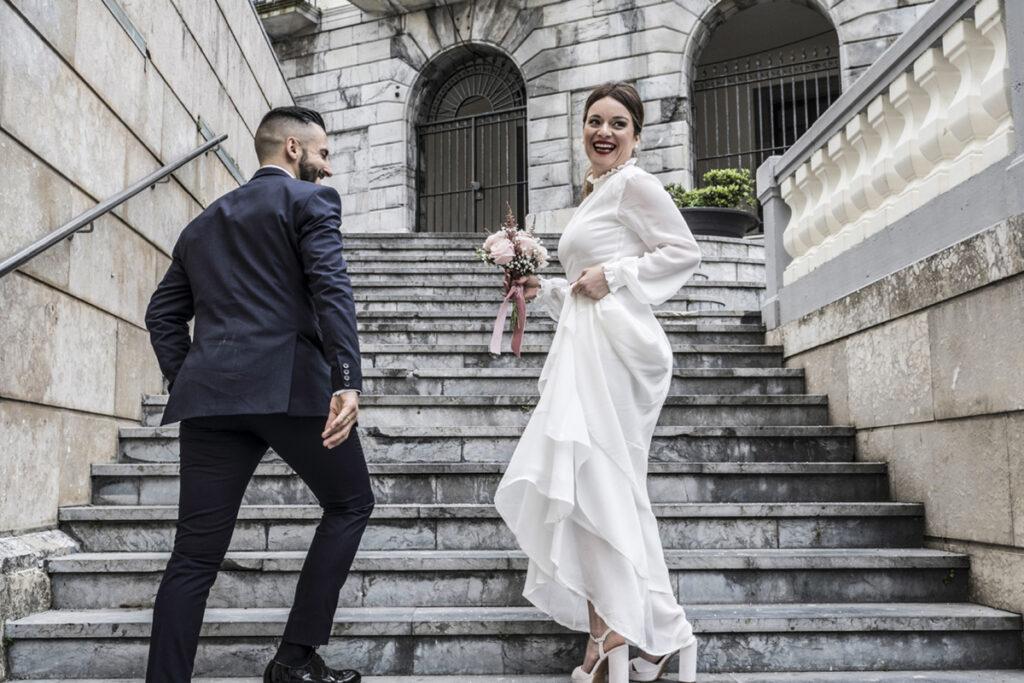 Recién casados fotografía