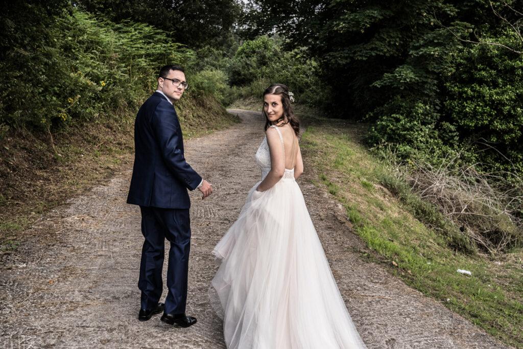 Reportaje de fotos a recién casados